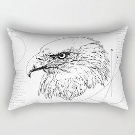 Geometry of a Bald Eagle Rectangular Pillow