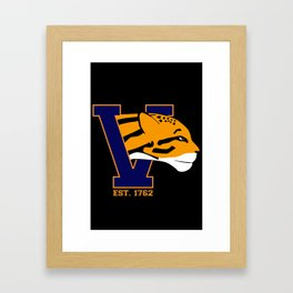 Fighting Ocelots! Framed Art Print