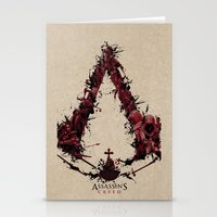 saga Stationery Cards featuring Assassin's Creed Saga by s2lart