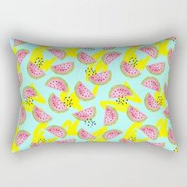 Colorful Watermelon Pattern Rectangular Pillow