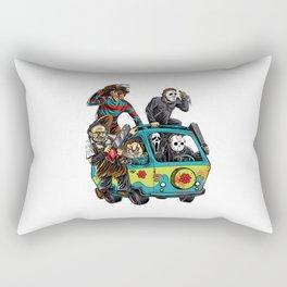 The Massacre Machine Horror Rectangular Pillow