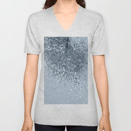 Cali Summer Vibes Lady Glitter #3 #shiny #decor #art #society6 Unisex V-Neck