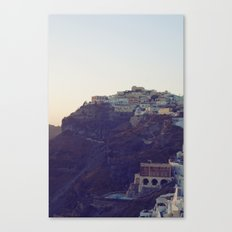 Fira at Dusk III Canvas Print
