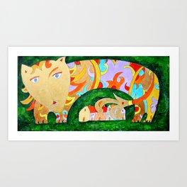 Leone2 Art Print