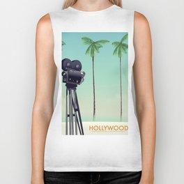 Hollywood Travel poster Biker Tank