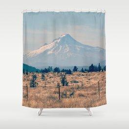 High Desert Haze Shower Curtain