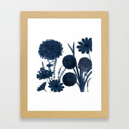 Blue Shift I Framed Art Print