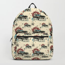 The Road So Far Vintage Backpack