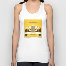 No206 My The Great Gatsby minimal movie poster Unisex Tank Top