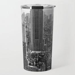 new york city ... manhattan view I Travel Mug