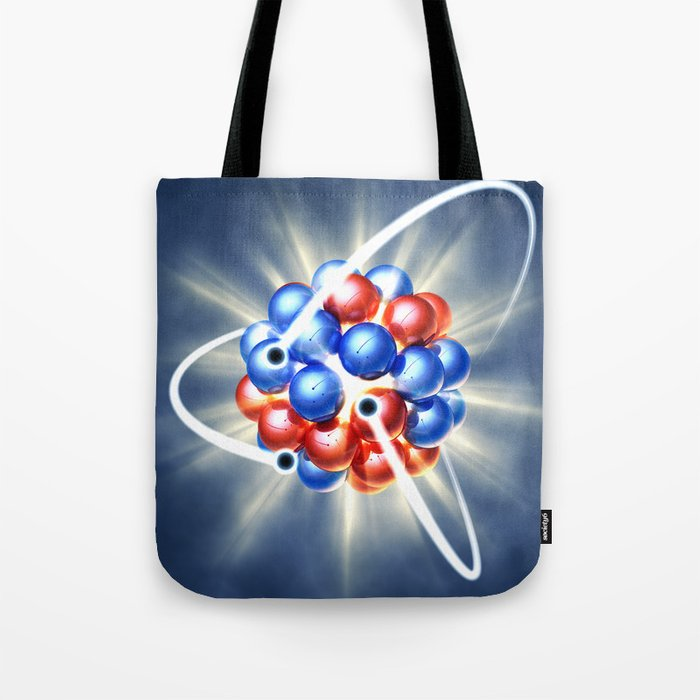 Atomic model Tote Bag