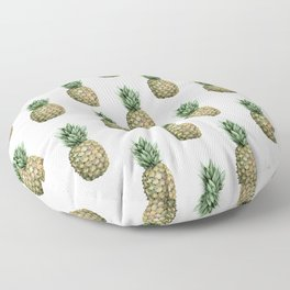 Classic Pineapple Pattern Floor Pillow