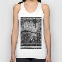 london map Tank Tops featuring London Map by Le petit Archiviste