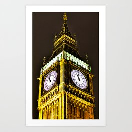 Big Ben in HDR Art Print