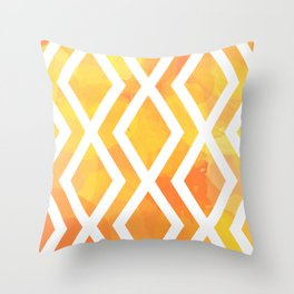 Delighted XIII Throw Pillow
