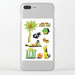 Tropicana Clear iPhone Case