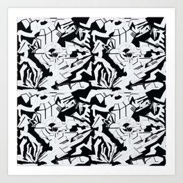 Sector 001 of Locutus Art Print