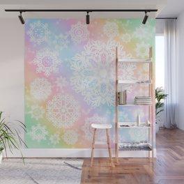 Aurora Frost Wall Mural