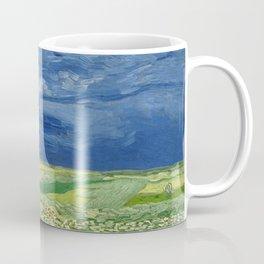 Vincent van Gogh - Wheatfield Under Thunderclouds Coffee Mug