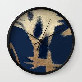 heure bleue Wall Clock