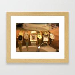 As Time Ticks On... Framed Art Print