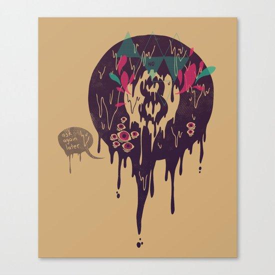 Bad Omen Canvas Print