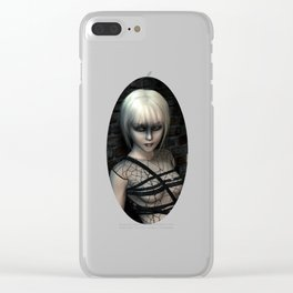 Night wanderer Clear iPhone Case