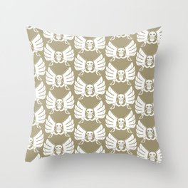 Baroque Works Throw Pillow