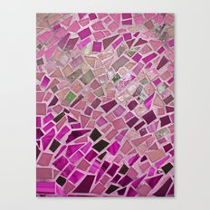 Little Pink Tiles Canvas Print