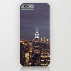 New York City Empire State Building at Night I iPhone 6s Slim Case