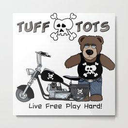 Tuff Tots Big Bear Metal Print