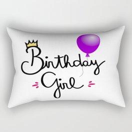 Birthday Girl Rectangular Pillow
