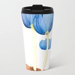 Blue fungi Travel Mug