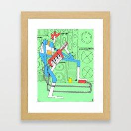 Kaiefsi Framed Art Print