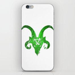 Green Horned Skaven iPhone Skin