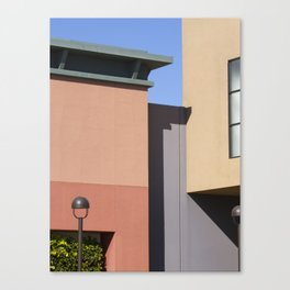 Color Block Canvas Print