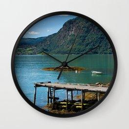 Ornes farm Wall Clock