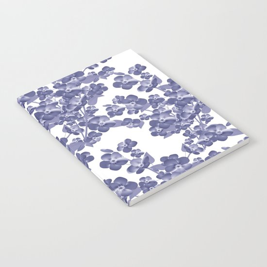 Floral pattern 14 Notebook