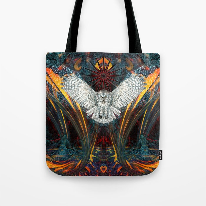 The Great Grey Owl Tote Bag