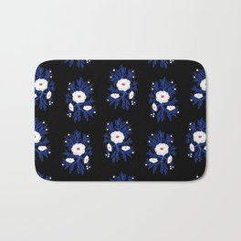 FrostBloom Bath Mat