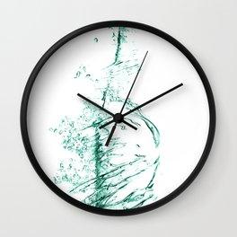 water 3 Wall Clock