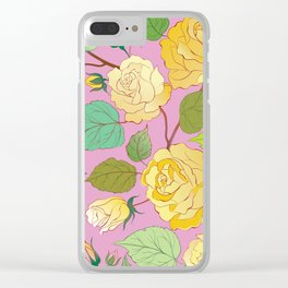 Roses 7 Clear iPhone Case