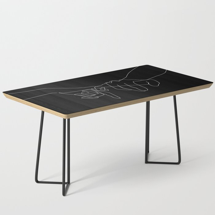 Black Pinky Swear Coffee Table