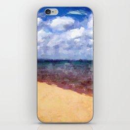 Beach Under Blue Skies iPhone Skin