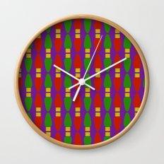 Bulb Wave Royal Wall Clock
