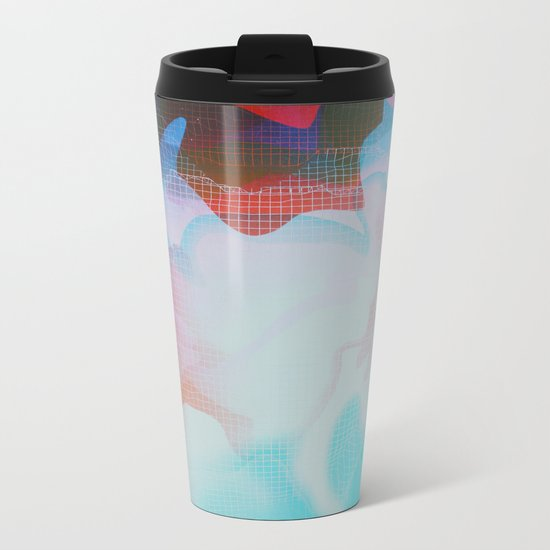 Glitch 29 Metal Travel Mug