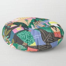 Latin Cultures Floor Pillow