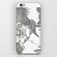 Up side down iPhone & iPod Skin