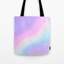 Kawaii Rainbow Magic Tote Bag