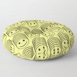 SMIIIIIIILE Floor Pillow